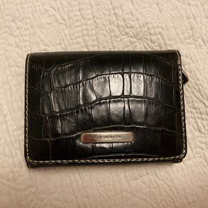 Jones New York Black Leather Wallet